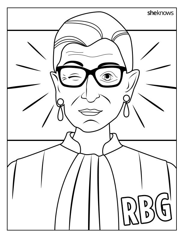 Celebrate the Notorious RBG's Birthday with This Printable