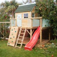 17 Best ideas about Backyard Playhouse on Pinterest   Kids ...