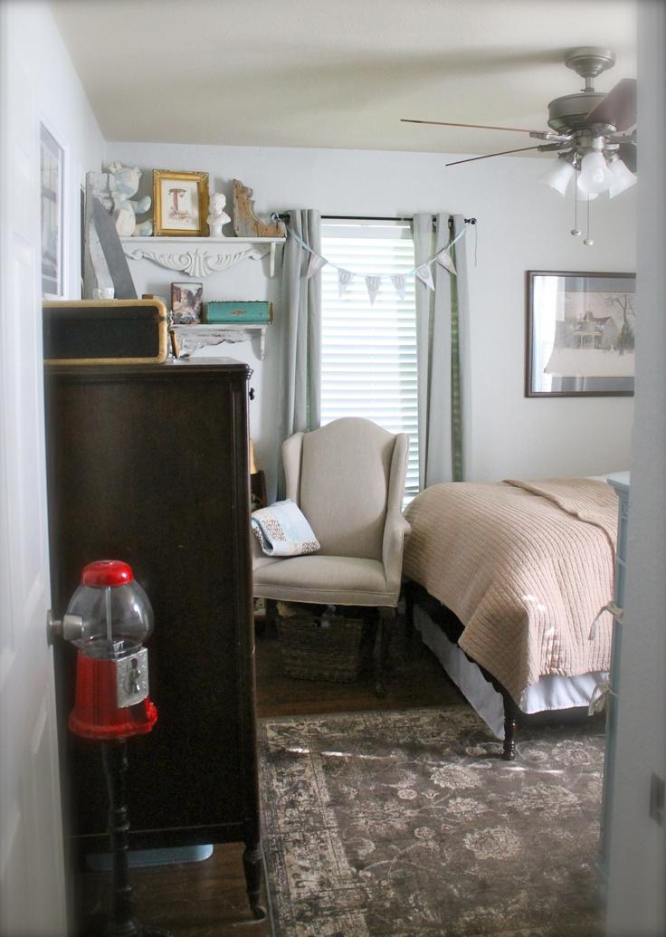 Vintage Boy Room Vintage Nursery Paint Fleur De Sel By