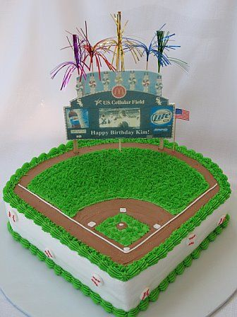 Baseball Stadium Cake-for Jeanie
