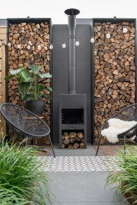 Best 25+ Outdoor Wood Burning Fireplace ideas on Pinterest