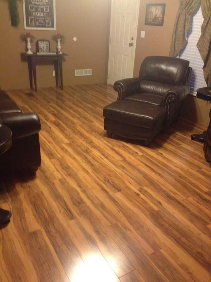 Our new floors Montgomery Apple pergo love them  Our Home