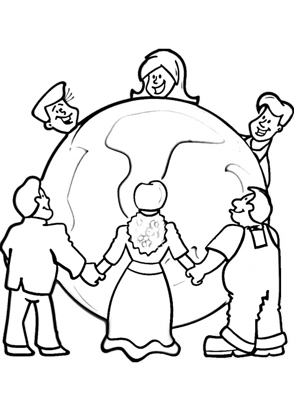 Whole World in His Hands Clip Art