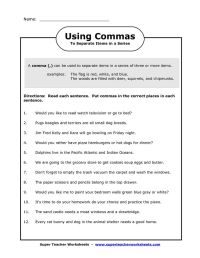 19 best images about Commas on Pinterest | Student, 5th ...