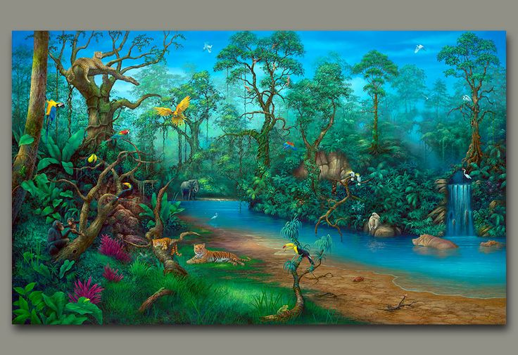 Dream About Wallpaper Falling Off Fantasy Rainforest Favorites What Makes Me Smile