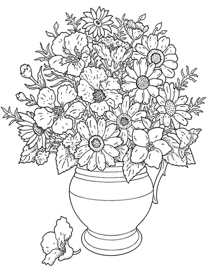 1000+ images about Adult Coloring pages on Pinterest ... | free printable coloring pages for adults only flowers