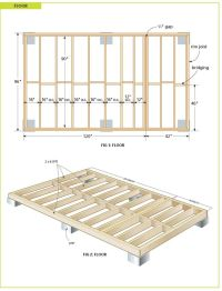 25+ best ideas about Wood shed plans on Pinterest