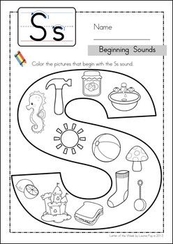 107 best images about Letter S Activities on Pinterest