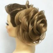 beautifully glam hair style