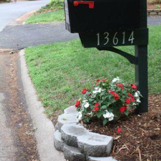mailbox landscaping gardens