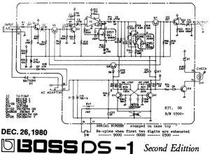 Boss DS1 Pedal Schematic | Pedal Tech | Pinterest | Boss