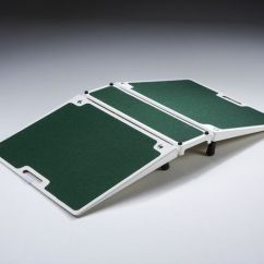 Portable Wheel Chair Cloud Nine A Great All Round Threshold Solution. This Fibreglass Folding Bridge Ramp Caters For ...