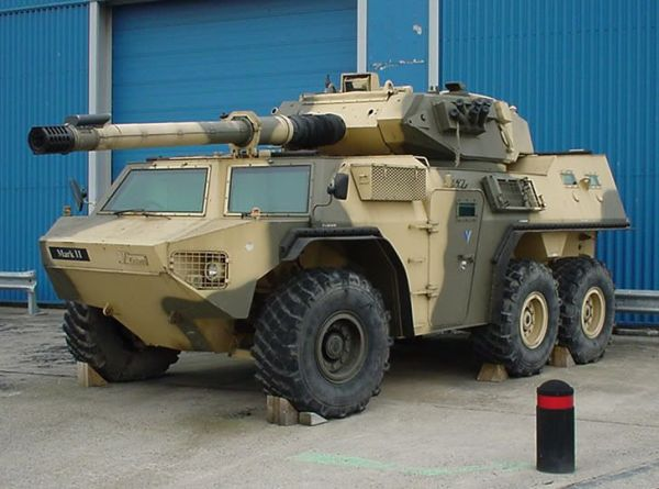 Armoured Fighting Vehicle Limitation of light armored