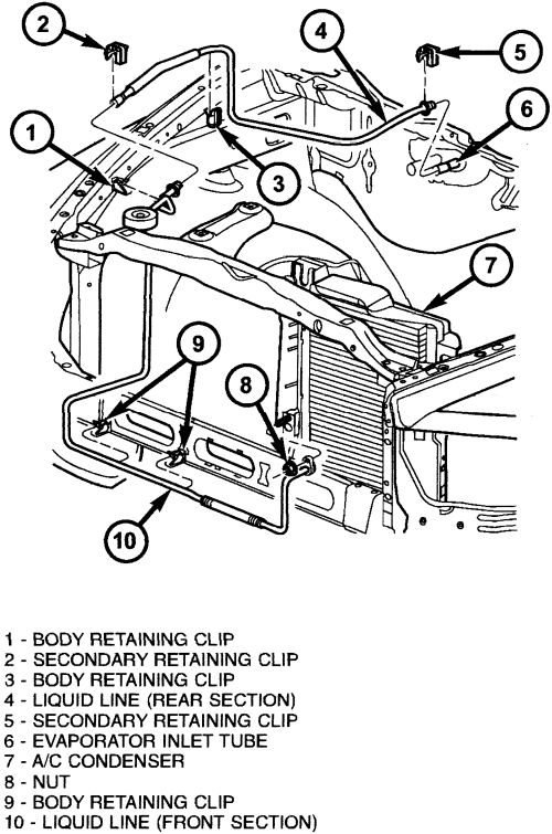 1992 Dodge Ram 5 2l Engine Compartment Wiring Diagram