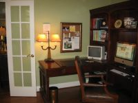 Soothing Paint Colors for Office | Soothing Green Office ...