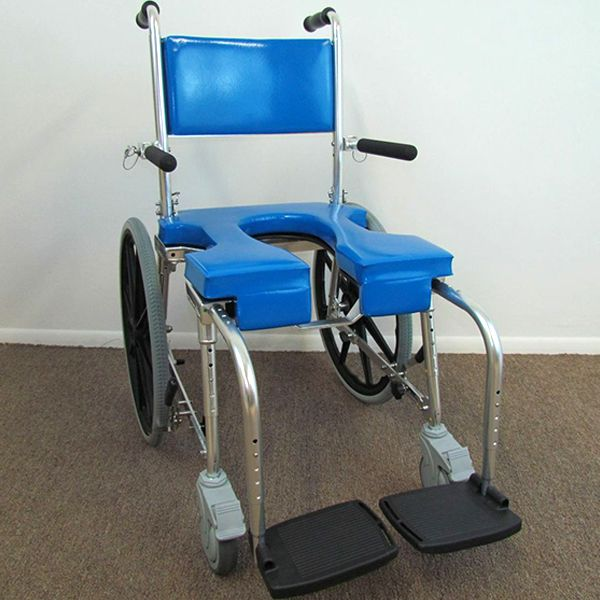 Shower Wheelchair Commode Chair HomeMobilityAids  See