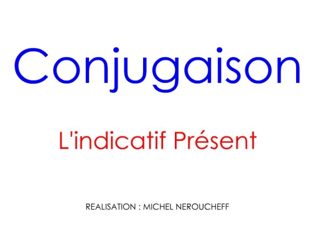 17 Best images about FLE Conjugaison / Présent on Pinterest | Belle. Student-centered resources and Present tense