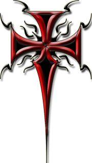 tribal cross tattoos ideas