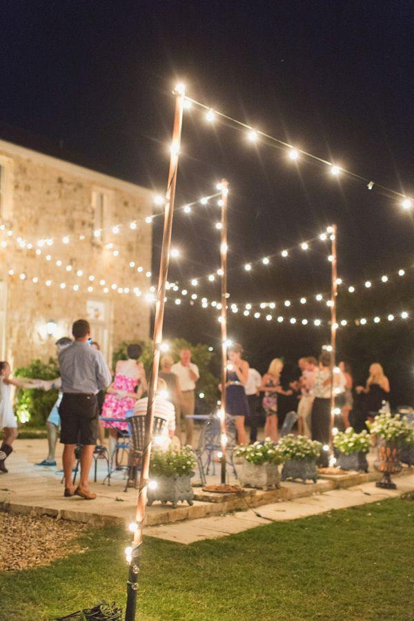 25 Best Ideas About Backyard Party Lighting On Pinterest