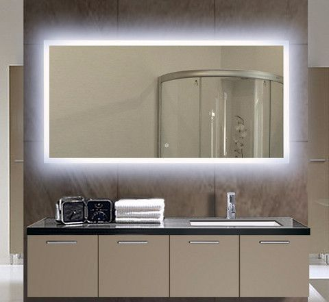 BACKLIT MIRROR RECTANGLE 55 X 28 in Available September 15 th preorder now Limited quantity