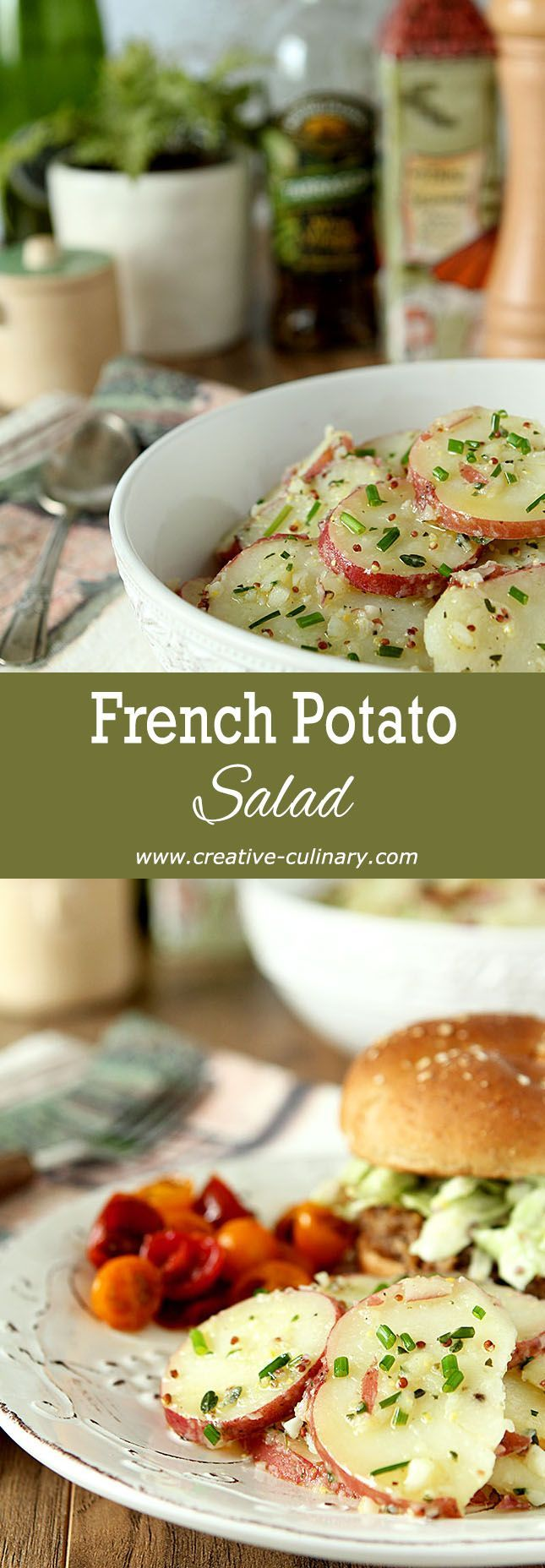 25 Best Ideas About French Potato Salad On Pinterest French