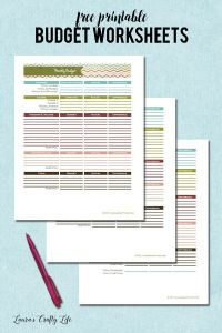 1000+ ideas about Budgeting Worksheets on Pinterest ...