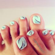 ideas toe nail design