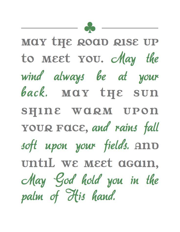 25 best ideas about Irish blessing on Pinterest  Irish quotes Irish sayings and Irish poems