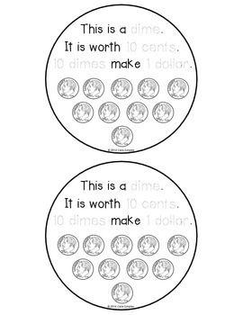 Money Flip Book Freebie! {Show Me The Money} Math for