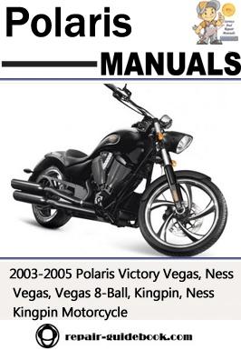 2003-2005 Polaris Victory Vegas, Ness Vegas, Vegas 8-Ball