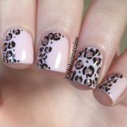 ideas cheetah nail