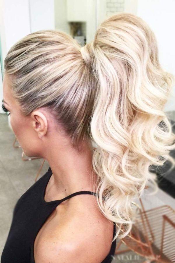 30 High Ponytail Hairstyles Wedding Updos Hairstyles Ideas Walk