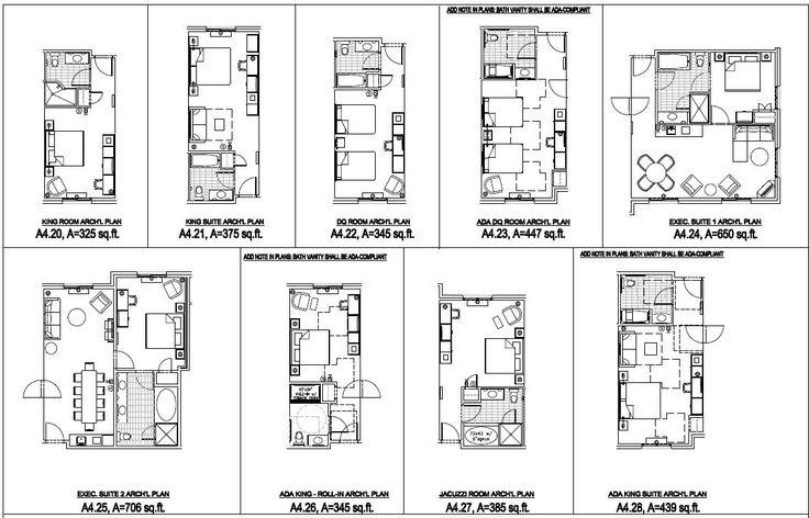 Amazing Hotel Floor Plans #14