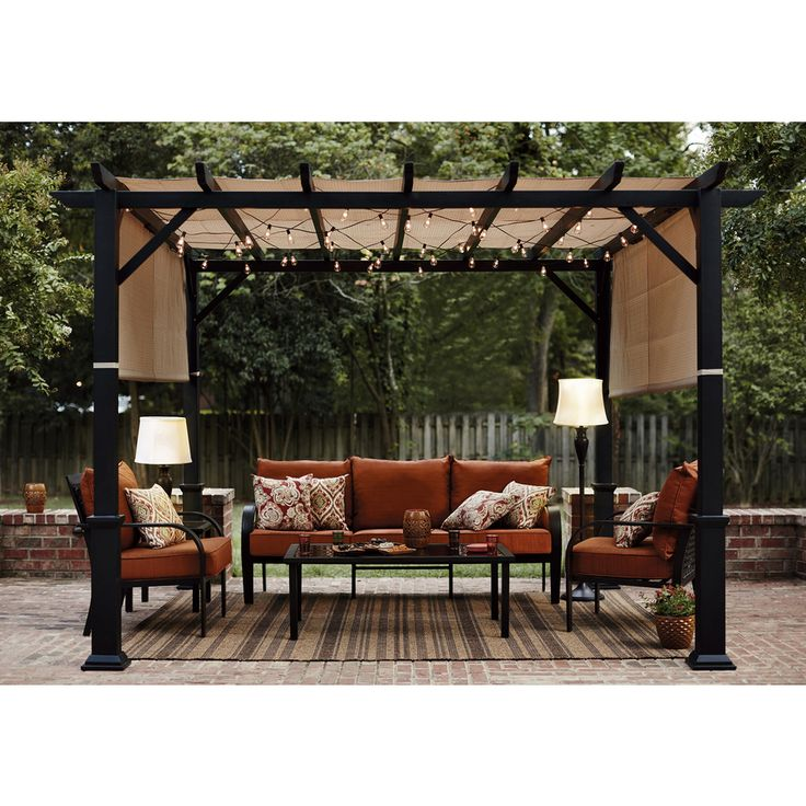 25 Best Ideas About Garden Canopy On Pinterest Retractable