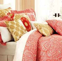 Cynthia Rowley Bedding Duvet Cover Set with Moroccan ...