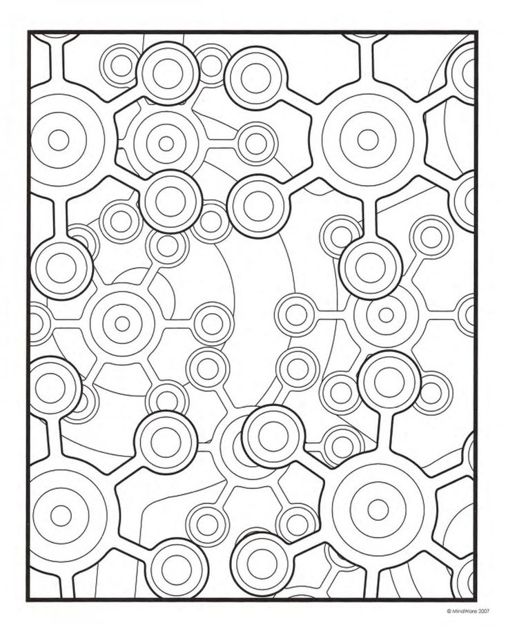 7 best images about Abstract Coloring Pages on Pinterest