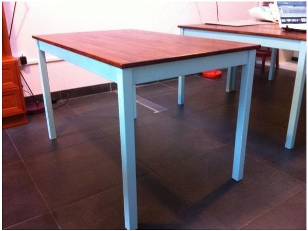 Ikea Ingo dining table  painted  varnished  House Ideas