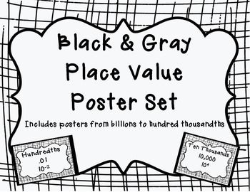 25+ best ideas about Place Value Poster on Pinterest