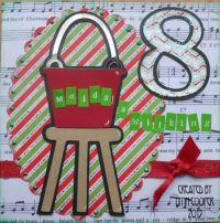 12 days of Christmas card. | Christmas door decorating ...