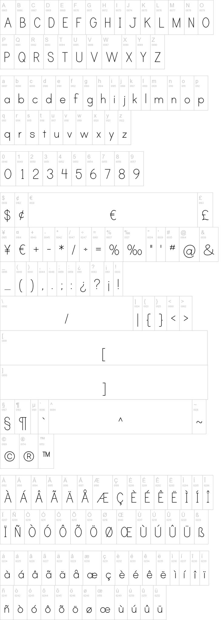A free downloadable font with dashed lines to make your