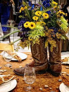 Western Wedding- thought this was cool for my country friends