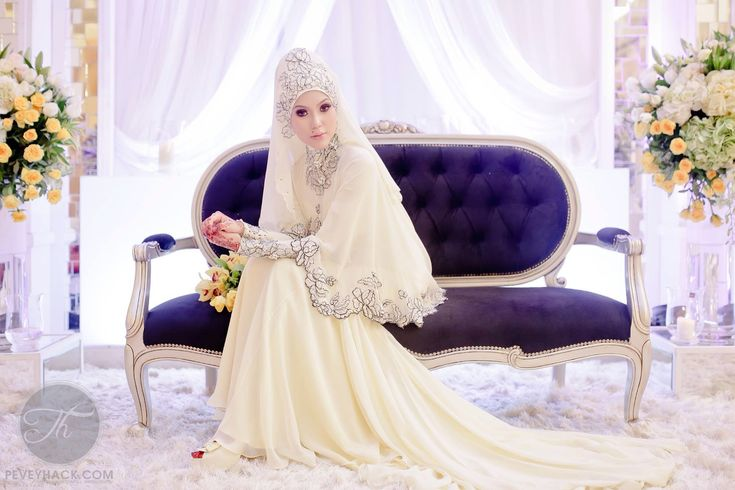 278 Best Images About Bridal Hijabs On Pinterest