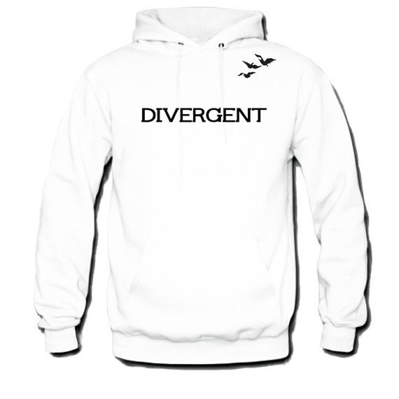 Divergent Hoodie Front and Back Tris and Four's by