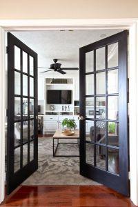Best 25+ Black French Doors ideas on Pinterest | Kitchen ...