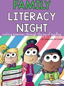 Family Literacy Night K 3 School Wide Event Activities
