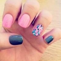#nails #acrylics #fake nails #glue on #diy #walmart #cute ...