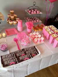 Girls Side of the Snack Table Gender Reveal Boy or Girl ...