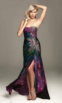 Teal Peacock Bridesmaid Dresses   www.imgkid.com - The ...