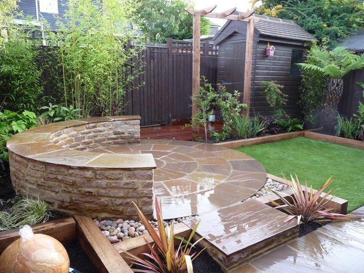 The 29 Best Images About Small Garden Designs On Pinterest