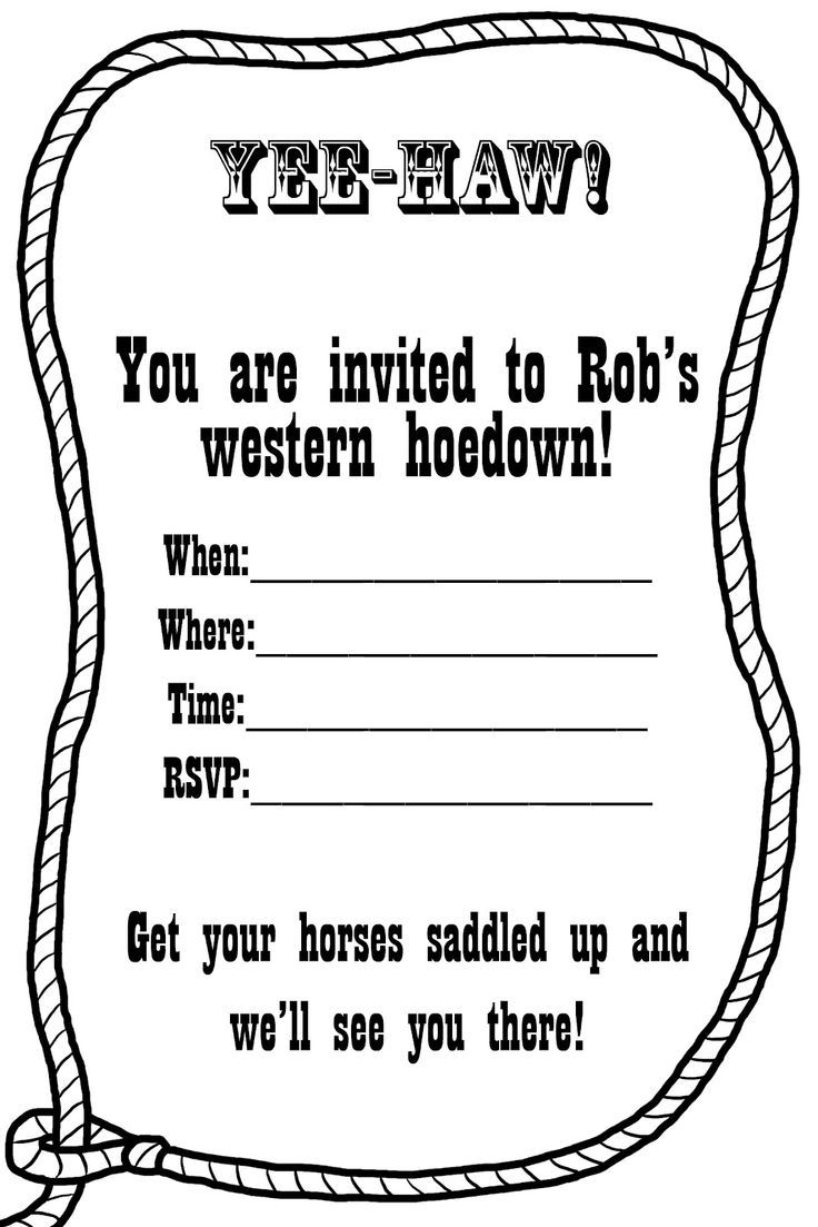1000+ ideas about Western Invitations on Pinterest